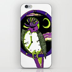 The Time iPhone & iPod Skin