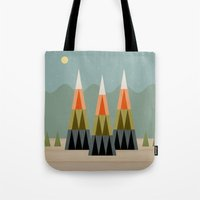 clear Tote Bags featuring Clear Skies by Tammy Kushnir