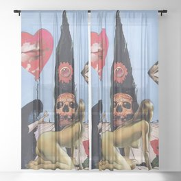 Fever Dream Sheer Curtain