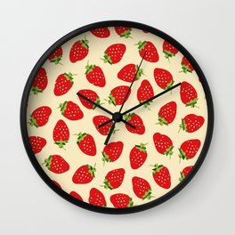 Lovely Cherry Wall Clock