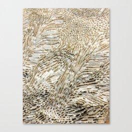 Digital Coral Design Canvas Print