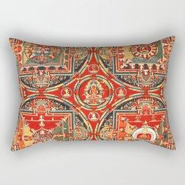Mandala Buddhist 3 Rectangular Pillow