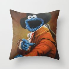 Monster Ducookie Throw Pillow