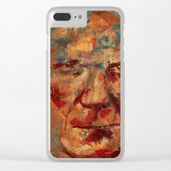 Oblivious People 4 Clear iPhone Case