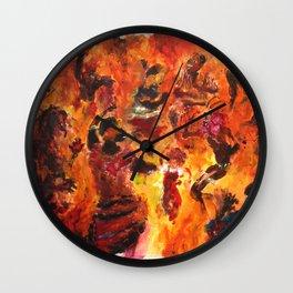 Africa Dance Wall Clock
