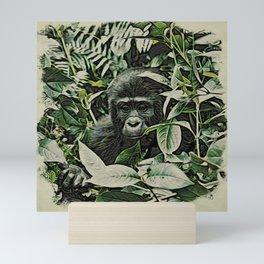 Animal ArtStudio 22516 Gorilla Baby Mini Art Print