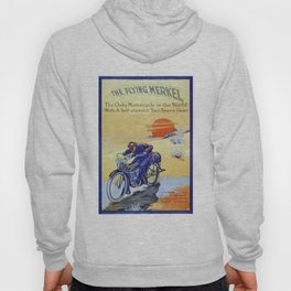 Vintage Merkel Motorcycle Advert Hoody