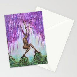 Whispers of Wisteria Stationery Cards