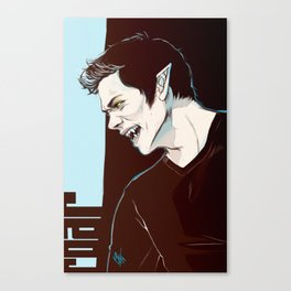 stiles no2 Canvas Print