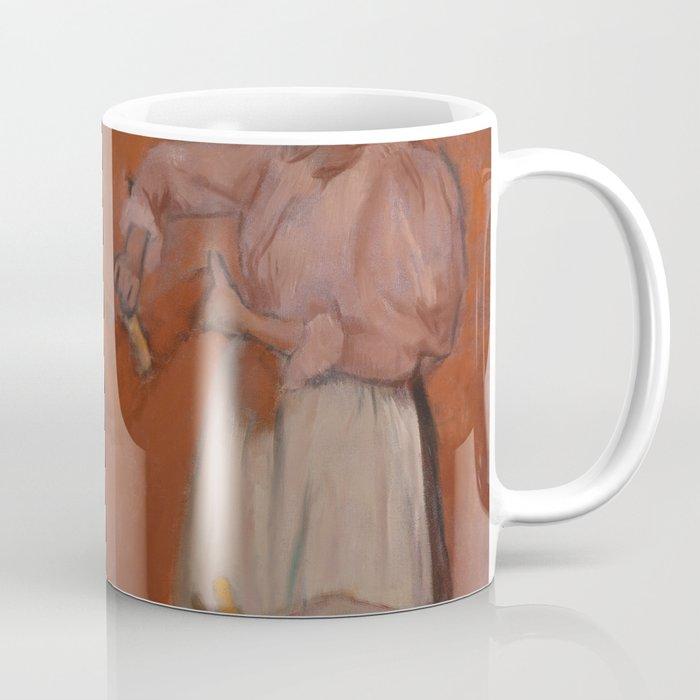 Combing the Hair Coffee Mug