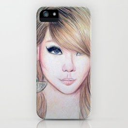 CL (2NE1) - Lee Chae Rin iPhone Case