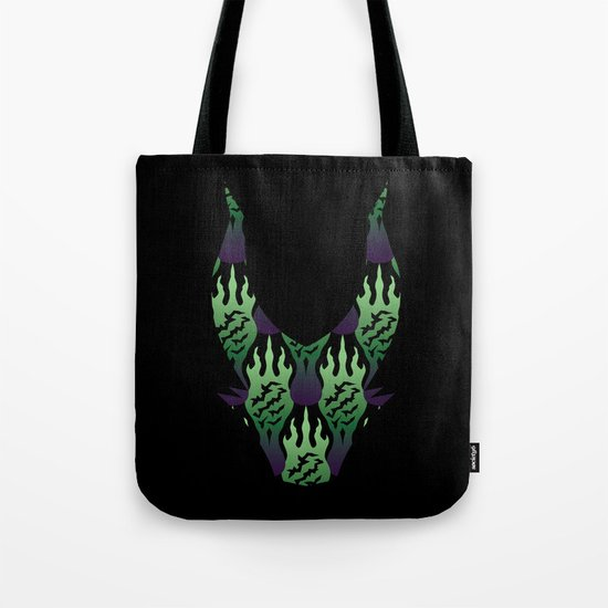 SCORCH pattern ~ Maleficent Tote Bag