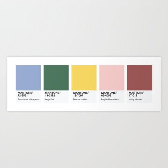 MANTONE® Colour Palette by emilyskublics