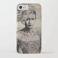 pride and prejudice iPhone & iPod Cases featuring Pride & Prejudice, Chapter XIV by Rebecca Loomis