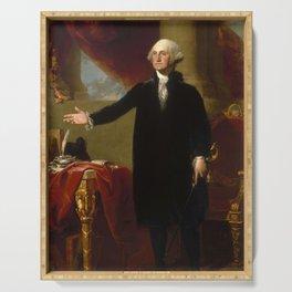 George Washington Painting Serving Tray