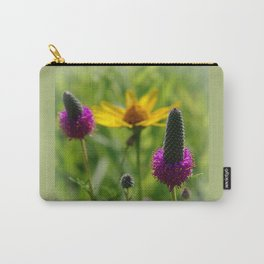 Sunflower and purple prairie clover Carry-All Pouch