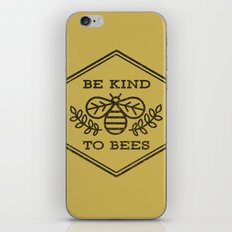Be Kind To Bees iPhone & iPod Skin