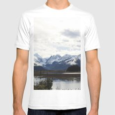 Alaska MEDIUM Mens Fitted Tee White