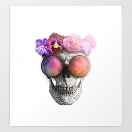 "Mortem in Gloria ""Helbi"" Art Print"