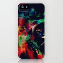 King of the Cosmos iPhone Case