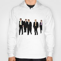 reservoir dogs Hoodies featuring Reservoir Dogs by Tom Storrer