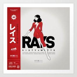 Rays - Variant Art Print