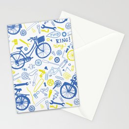 All about the bikes Stationery Cards