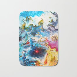 Abstract Melt VII Bath Mat