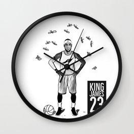 LEBRONJAMES Wall Clock