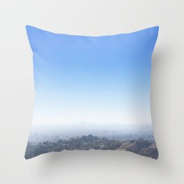 Lost Angeles Throw Pillow