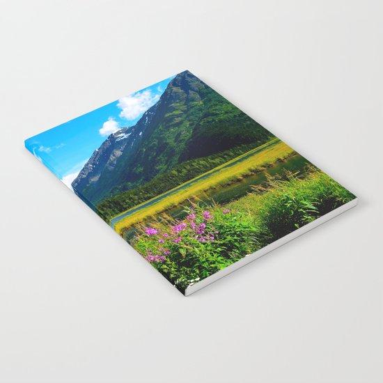 God's Country - Summer in Alaska Notebook