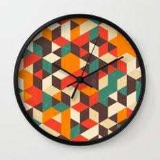 Retro Metric Wall Clock