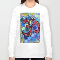 om Long Sleeve T-shirts featuring OM by Art By Carob
