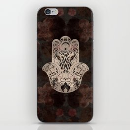 Blush Hamsa iPhone Skin
