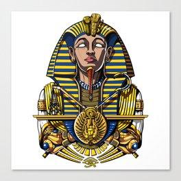 Egyptian Pharaoh Tutankhamun King Tut Canvas Print