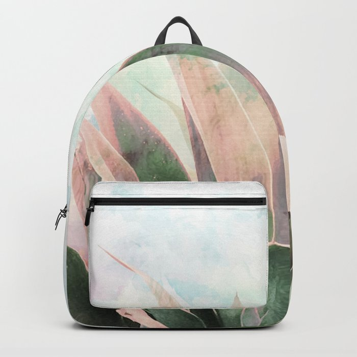 Landscape plant paint Backpack