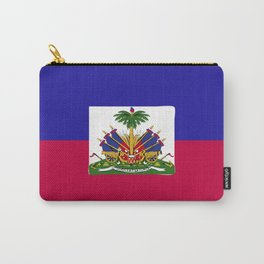 Haiti flag emblem Carry-All Pouch