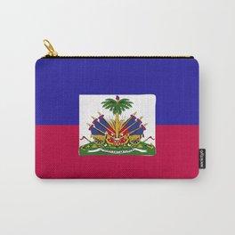 Haiti flag emblem Carry-All Pouch