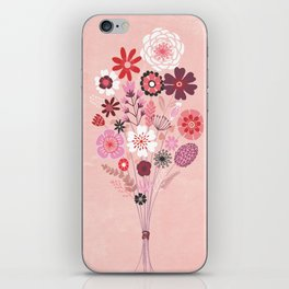 Flowers for Zoe iPhone Skin