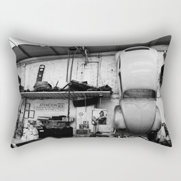 Car on the wall Rectangular Pillow