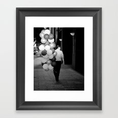 Bunches And Bunches Framed Art Print