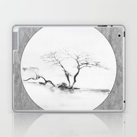 Scots Pine Paper Bag Grey Laptop & iPad Skin