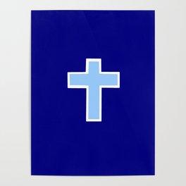 Christian cross 14 Poster