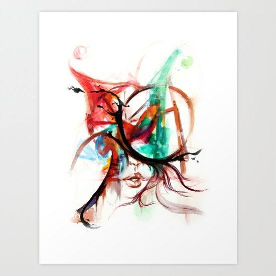 Be a clown Art Print