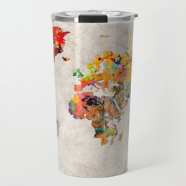World Map 29 Travel Mug