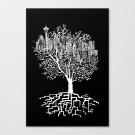 Seattle TreeHouse Canvas Print