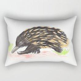 The Wondering Echidna Rectangular Pillow