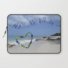 Ah St. Croix Laptop Sleeve