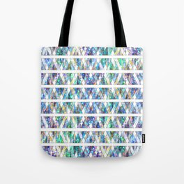 Geometric Glossy Pattern G331 Tote Bag