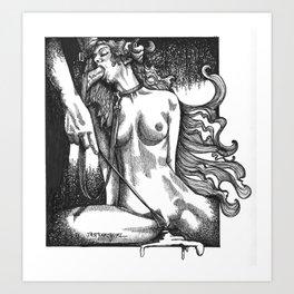 bdsm/blowjob/erotica/pornart/bdsmcommunity/nude/art/eroticart/oralsex/cock/dom/sub/sex Art Print